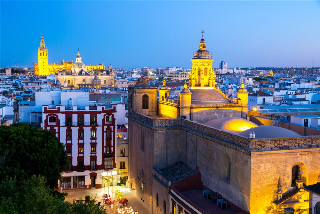 Krásy jižního Španělska (putování Andalusií) - Sevilla