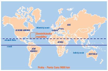 dominikanska republika mapa sveta Dominikánská republika dominikanska republika mapa sveta